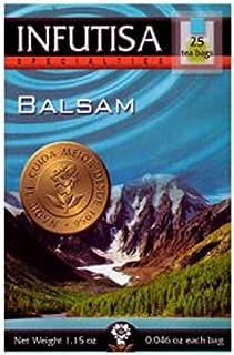 INFUTISA BALSAM infusion 25bags, Black, Standard