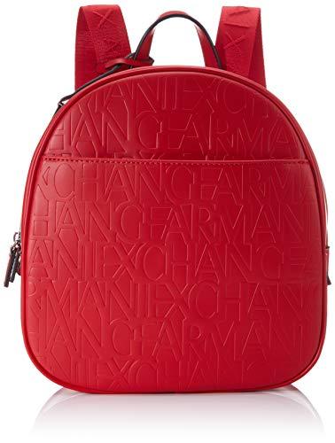 ARMANI EXCHANGE Liz - Zaino da donna, 28 x 8 x 26 cm, Rosso (Rosso (rosso - rosso).), 28x8x26 cm (B x H x T)
