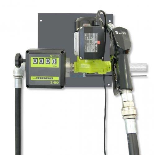Elektropumpe TecPump 600AC 55l/min 230V im System mit Zählwerk Z400 - Dieselpumpe