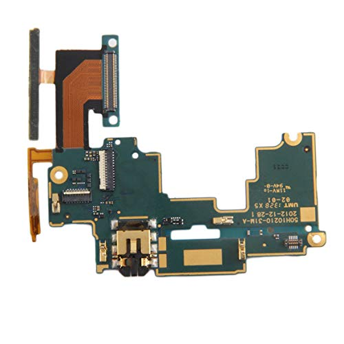 Mainboard Audio Jack Mic Volume Button Flex Cable Repair Part for HTC One M7 801 s 801E 801c 801n Mobile Phone Accessories JohnJohnsen