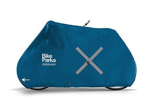 BikeParka URBAN Waterproof Bicycle Cover (CIEL Blue)