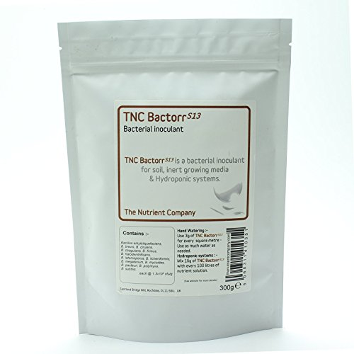 TNC BactorrS13 - Bacterias beneficiosas para el té de compost, hidroponía y horticultura (300g)