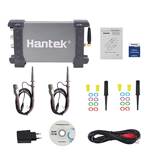 Hantek IDSO1070A Osciloscopios WIFI Connect 70MHz 250MSa/s 2 Channels PC USB Oscilloscope