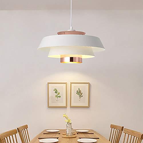 no-branded Sygjal Sala de Estar Lámparas, Creativo de un Cabezal de Personalidad, Lámparas Lámparas Blancas (40 * 21cm, E27)