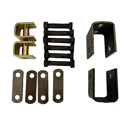 """One Single Axle Trailer Spring Hanger Kit Fits Axles with 1 3/4"""" Wide Springs"""