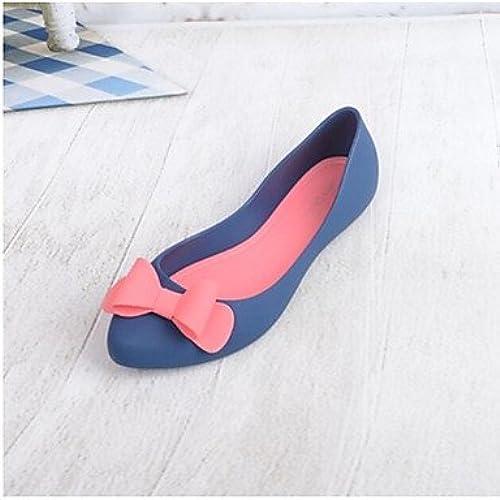 RUGAI-UE Mode d'été Occasionnels Chaussures Femmes Sandales Talons PU Confort,Nous,argent8   EU39   UK6   CN39