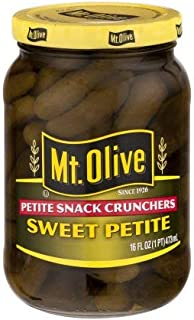 Mt. Olive, Sweet Petite Snack Crunchers (Pack of 4)