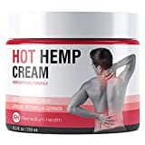 Hemp Joint & Muscle Active Pain Relief Cream - Strength Hemp Oil Treatment Gel for Inflammation, Knee,...