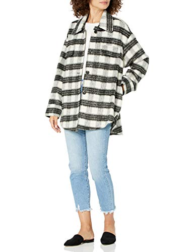 The Drop Women's @spreadfashion Oversized Shirt Jacket