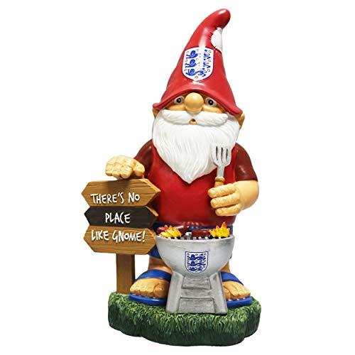 FOCO England Football Team BBQ Garden Gnome Ornament Indoor/Outdoor