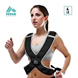 RBX Performance Fitness Weighted Vest, 8-Pound