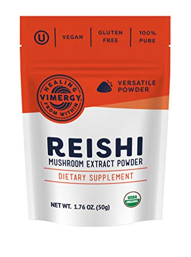 Vimergy USDA Organic Reishi Extract Powder (50g)