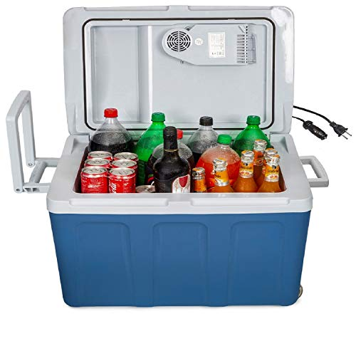 K-box Electric Cooler and Warmer with Wheels for Car...