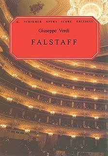 Falstaff: Vocal Score (G. Schirmer Opera Score Editions)