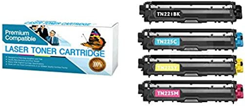 HP 305A NAR CARTRIDGES Compatible Replacement for HP CE410A Four Pack of Color Toner Cartridges.