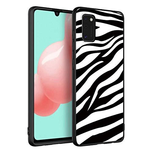 Yoedge Hülle für Xiaomi Redmi Note 8 6.3″ Schwarz Silikon Handy Hülle TPU Karikatur Weiche Schlank Schutzhülle Handyhülle Handytasche Dünn Cartoons Case Hülle für Redmi Note 8 Hülle,Zebradruck