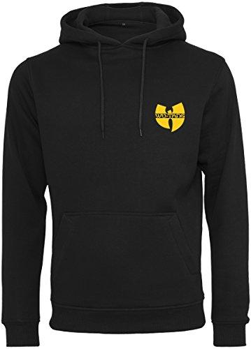 Wu Wear Heren capuchontrui Wu-Tang Clan hoodie met kleine patch van het band-logo