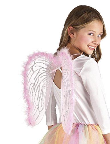 Ailes ange roses 40 x 33 cm enfant - taille - Taille Unique - 232954