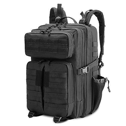 Lixada Multifunktional Assault Backpack wasserdichte Molle Rucksack Tasche für Outdoor Camping Wandern Reisen
