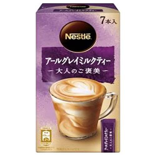 ネスレ日本 ネスレ 大人のご褒美 アールグレイミルクティー (10.6g×7P)×24箱入