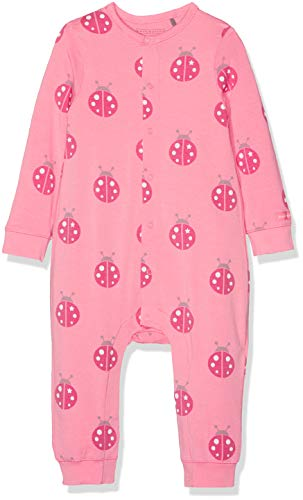 Bellybutton Kids Unisex Baby Overall 1/1 Arm Strampler, Geranium Pink|Rose 2390, 68