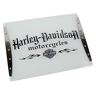 Harley-Davidson® Motorcycle Tempered Glass Cutting Board