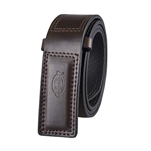 Dickies Men's No-Scratch Mechanic Belt, Brown, Medium (34-36)