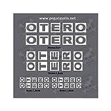 MTB Otero Stickers Decals AUFKLEBER Pegatinas AUTOCOLLANT Full Color