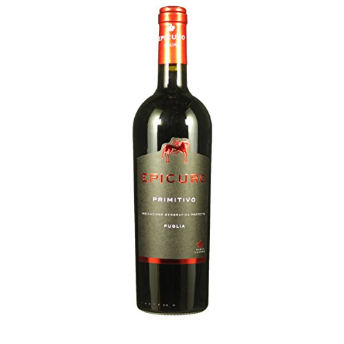 Epicuro 2017 Primitivo Puglia Rotwein 0,75 L