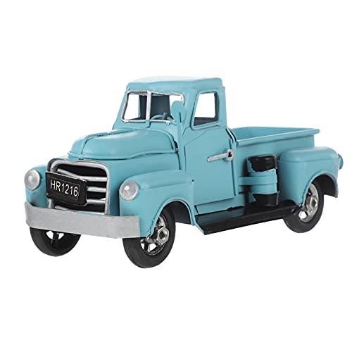 Homoyoyo Pickup Camión de Juguete 1958 Chevy Apache Fleetside Pickup Camión Modelo Diecast Coche de Juguete Azul