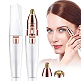 Augenbrauen Trimmer Elektrischer, Augenbrauen Rasier Gesicht Haarentferner für Damen die Lippen Augenbrauen Epilierer