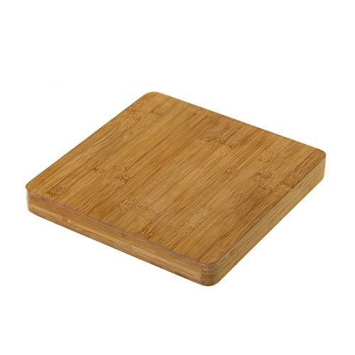Tabla de cortar nórdica marrón de bambú para cocina Basic - LOLAhome