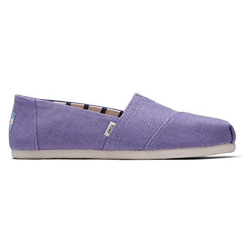TOMS Dusky Purple Heritage Canvas Women's Alpr ESP Purple 10014419 7