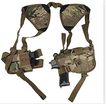 NO LOGO L-Yune, Nuevo al Aire Libre táctico Seguridad de la Policía Universal Izquierda Derecha Mano de la Pistola de la Bolsa de Hombro Pistolera for Glock 17 19 22 23 31 32 (Color : CP)
