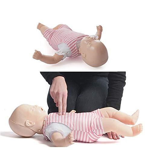 GHDE&MD RCP Baby Infant Training Maniquí Obstrucción De La Vía Aerea PVC Modelo De Primeros Auxilios