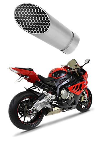 S1000RR Escape Moto Deportivo Megaphone GP 3 Titanio Silenci