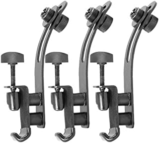 On Stage DM50 Drum Rim Microphone Clips 3-Pack