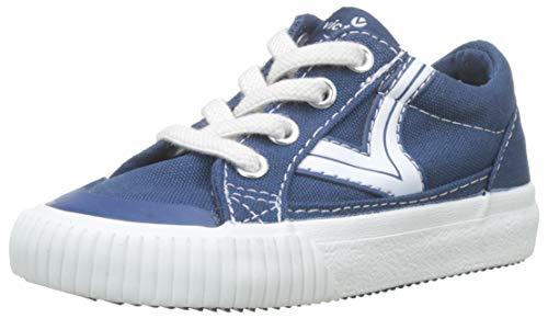 Victoria Tribu Lona Retro, Zapatillas Unisex bebé, Azul (Azul 36), 23 EU