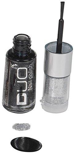 Jofrika Cosmetics Nagellack Duo schwarz Einheitsgröße