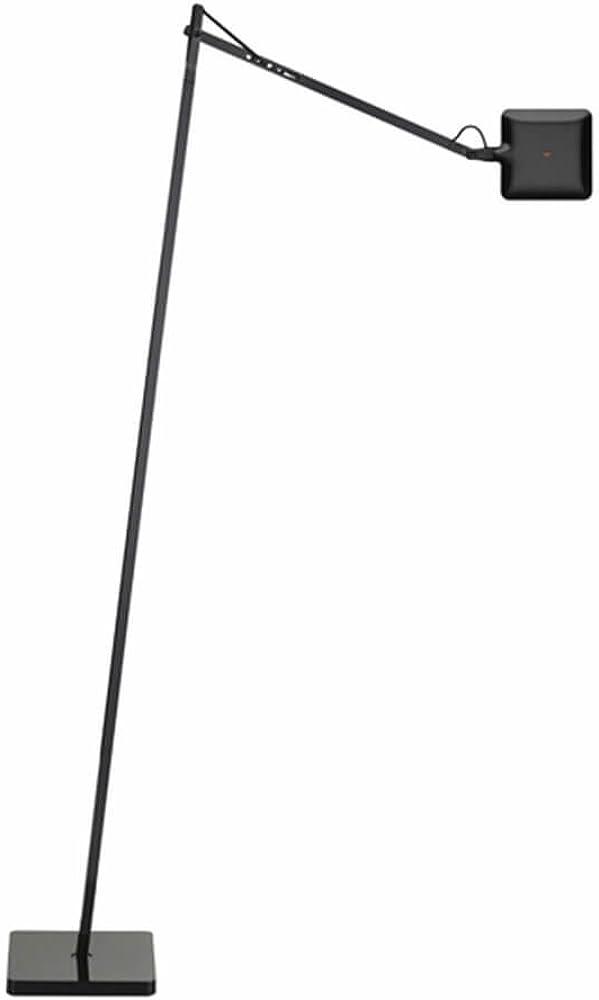 Flos kelvin led f lampada da terra nera F3305030