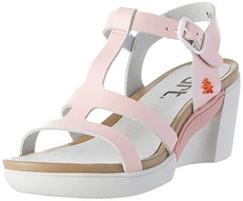 Art Rotterdam, Zapatos de tacón con Punta Abierta Mujer, Rosa (Rose Rose), 37 EU