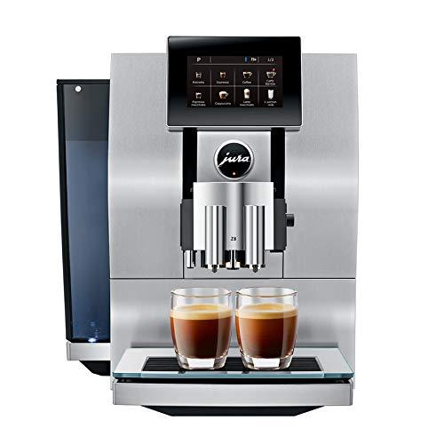 Jura 15063 Kaffeevollautomat, 2450 W, aluminium/schwarz