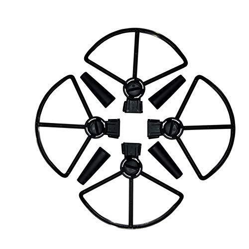 YNSHOU Funcional Propeller 4Pcs Propeller Guards + 4Pcs Kit de protección de Patas del Tren de Aterrizaje para dji Spark Drone Drone Accesorios (Color: Negro) (Color: Negro) ( Color : Black )