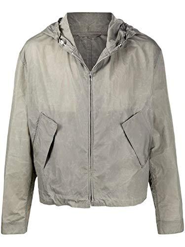 Luxury Fashion   Kenzo Heren FA55SW1681NW92 Grijs Polyamide Outerwear Jassen   Lente-zomer 20