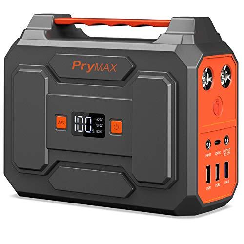 PRYMAX ポータブル電源 大容量 45000mAh/167Wh 家庭用 蓄電池 小型 軽量 非常用電源 PSE認証済み 純正弦波 四つの充電方法 AC(100W 瞬間最大200W) DC QC3.0 USB出力 車中泊 キャンプ 釣り アウトドア 地震