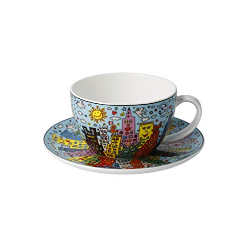 Goebel My New York City Day James Rizzi Teetasse Kaffeetasse Tassse NEUHEIT 2020