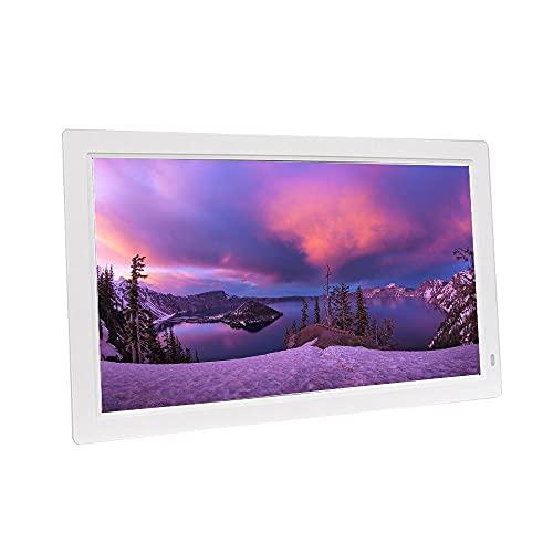 Photo Frame Negro/Blanco 21.5 Pulgadas Marco de Fotos Digital Pared de plástico ABS Máquina de Publicidad Colgante Centro Comercial Reproductor de Video Promocional Resolución 1920X1080