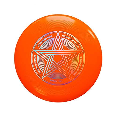 Professional Ultimate Frisbee Frisbee 145g Five-Star Series Safety and Environmental Protection Children and Youth Frisbee Outdoor Sports Team Frisbee-Orange