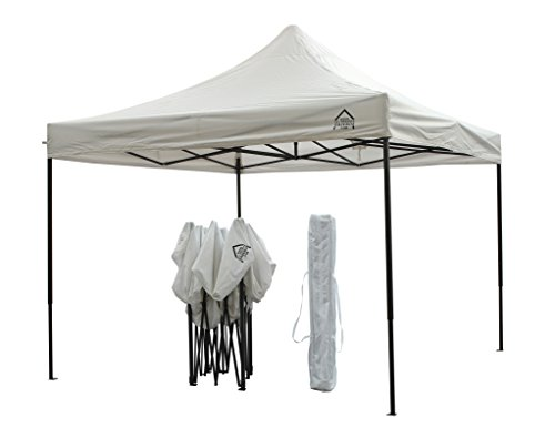All Seasons Gazebos da 3x3m Robusto Gazebo Pop up Premium Completamente Impermeabile (Bianco)
