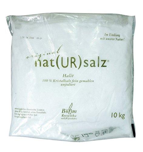 Halit. Natursalz gemahlen 10kg
